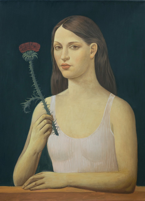 Alberto Galvez, Mujer con Cardo ll