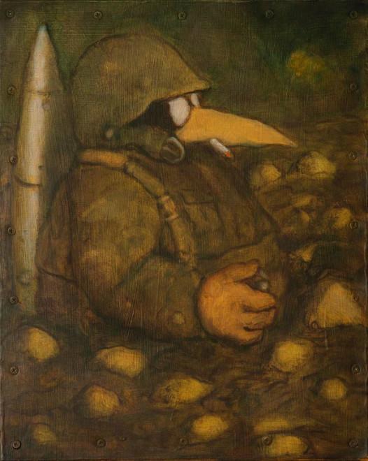 Santiago Perez, Foxhole