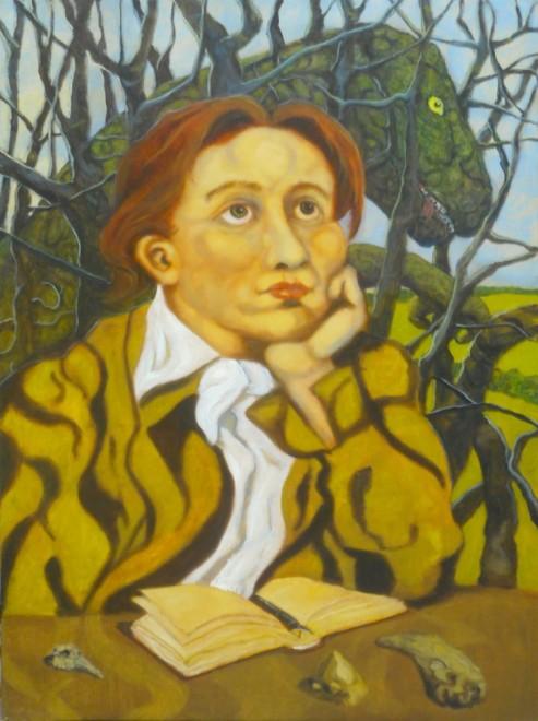 Santiago Perez, (John Keats composes an) Ode to Tyrannosaurus