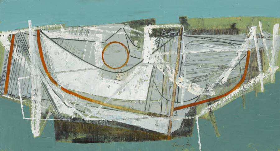 Leigh Davis, Boat Remains, St Mary's, Isles of Scilly