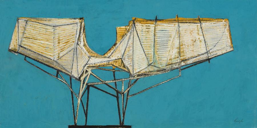 Leigh Davis, Wingspan, Study for a Sculpture