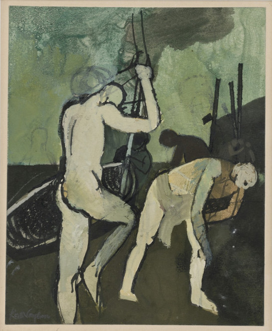 Keith Vaughan, Figures and Boats