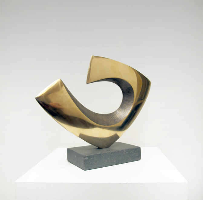 Robert Fogell, Form with Curved Edge I