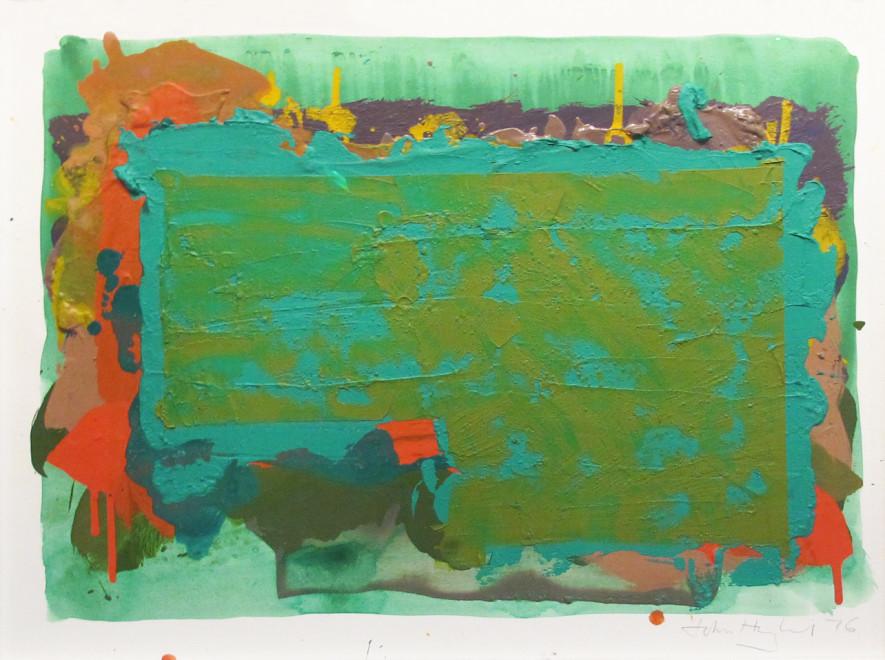 John Hoyland, Untitled 1976