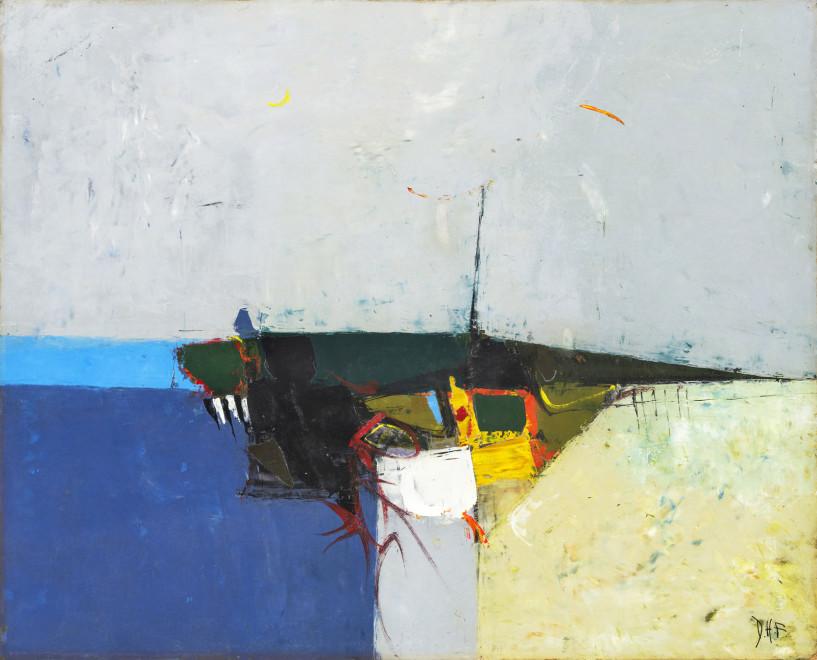 Donald Hamilton Fraser, Beach, Evening