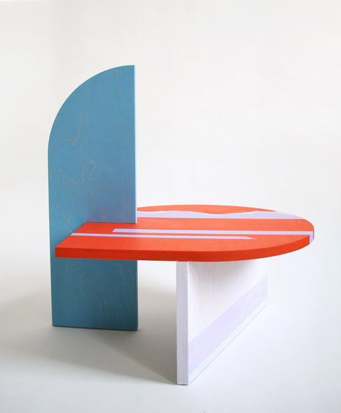Colette Vermeulen, Side Table Red, 2019