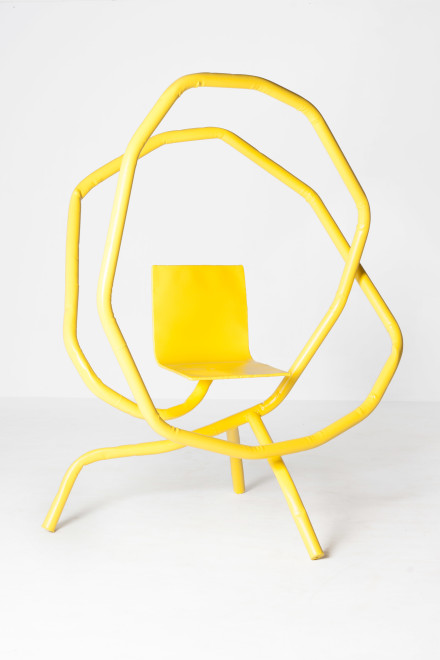 Bart Eysink Smeets, Yellow rocking chair