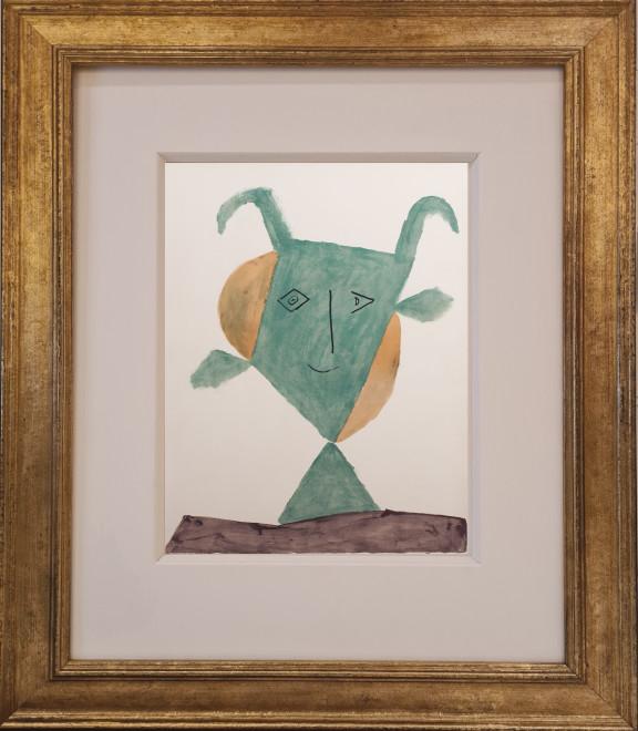 Green faun, 1960