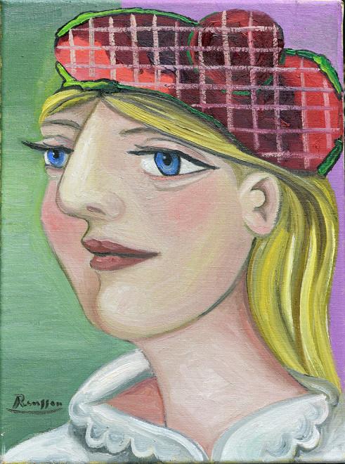 Size S | Girl in checkered baret