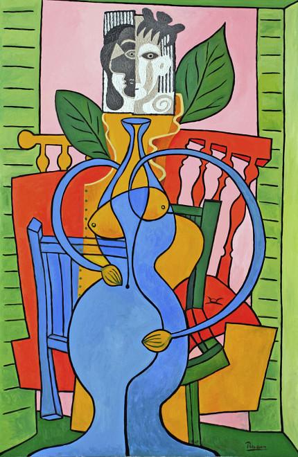 Vase woman I