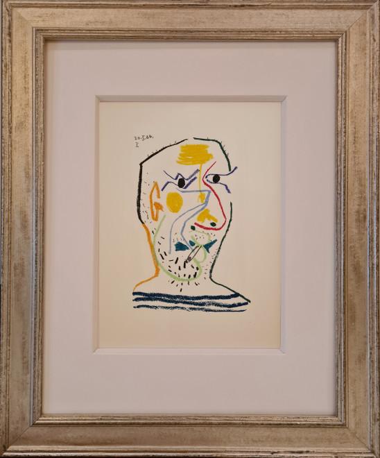 Face of a man I, 1964