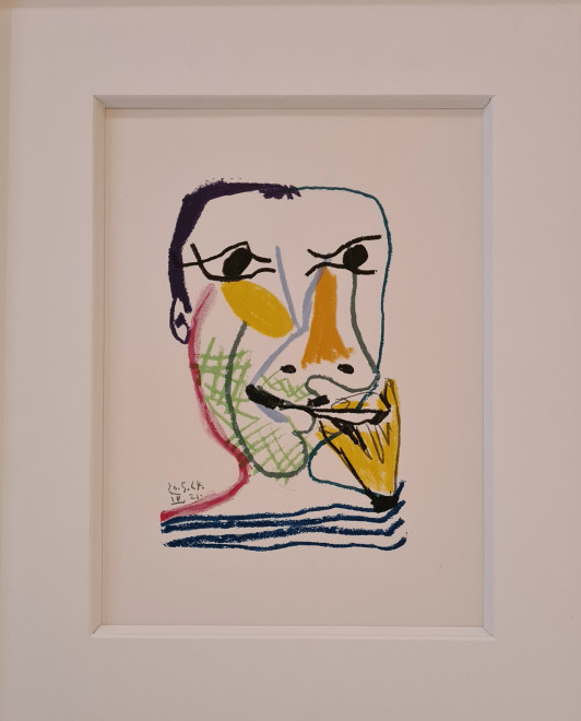 Face of a man IV, 1964