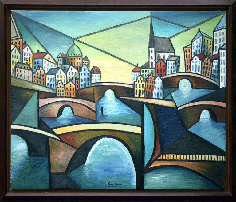 The bridges of Amsterdam (I)