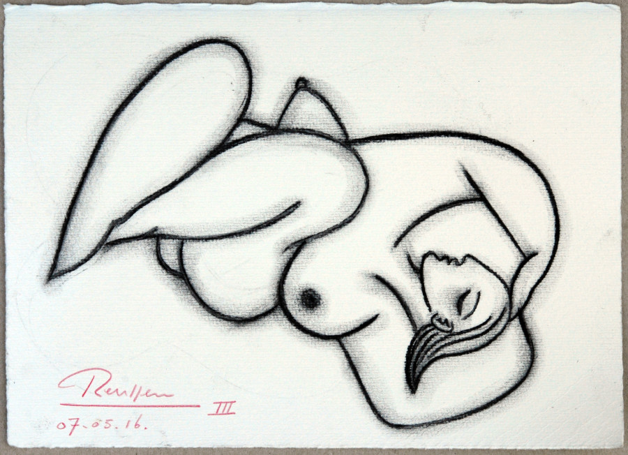 Sleeping nude III