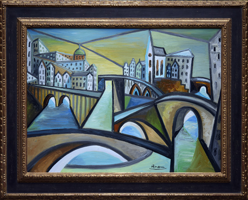 Size M | The bridges of Amsterdam