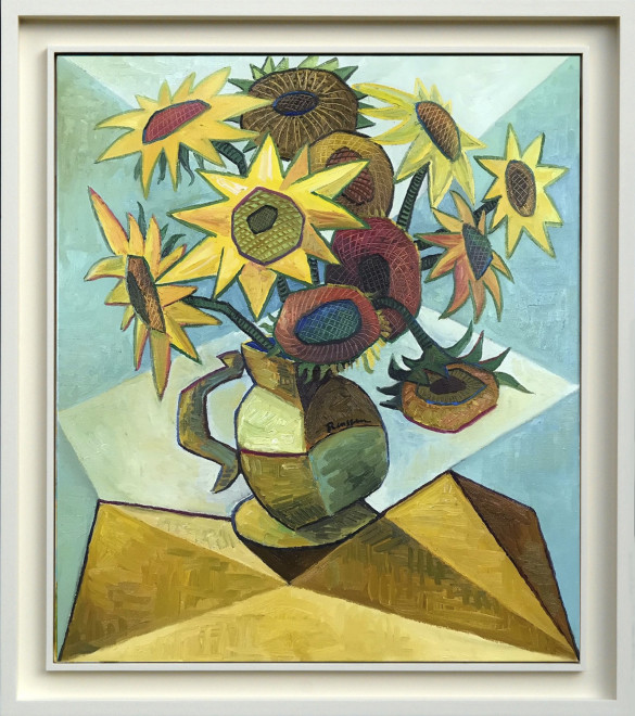 Sunflowers in a pitcher II