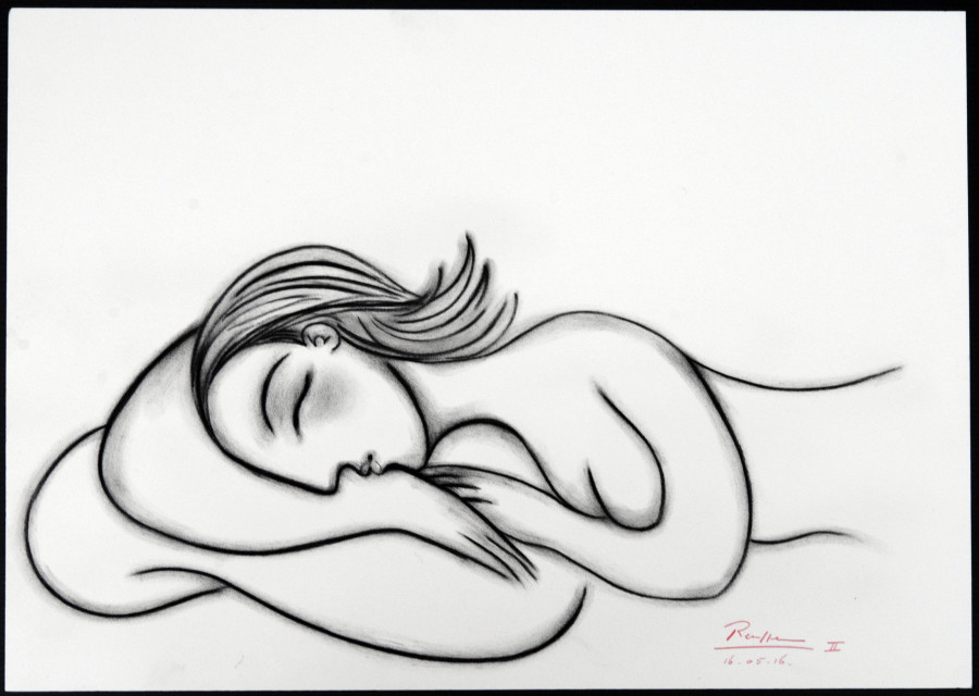 Sleeping nude IV