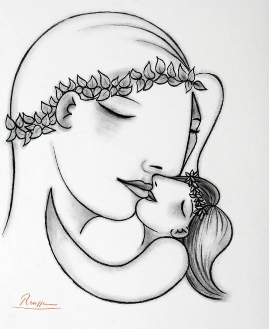 Mother & child VI