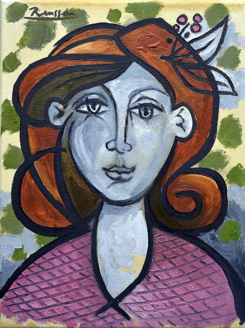 Size S | Portrait of a lady