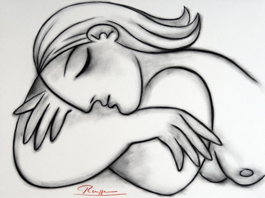 Sleeping nude IX