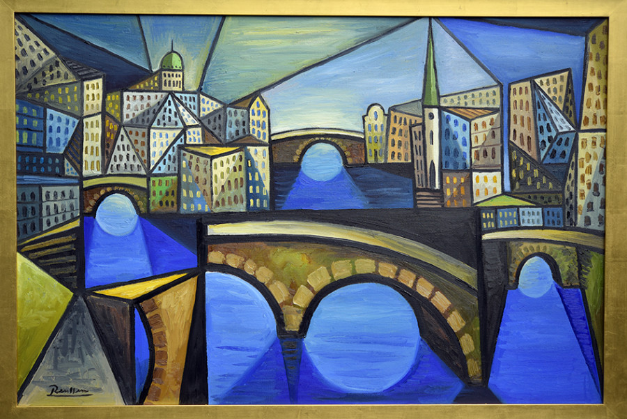 Size L | The bridges of Amsterdam
