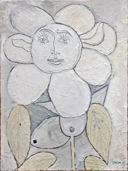 Femme fleur IV