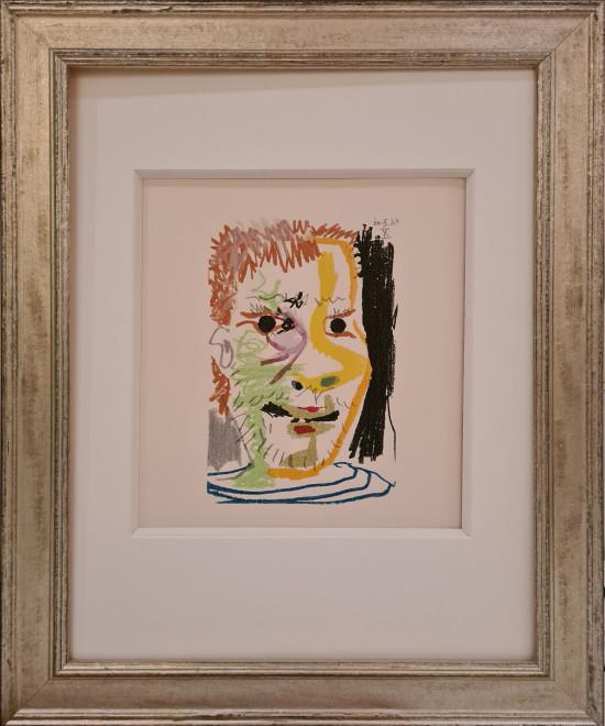Face of a man X, 1964