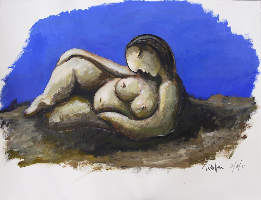 Reclining nude VII