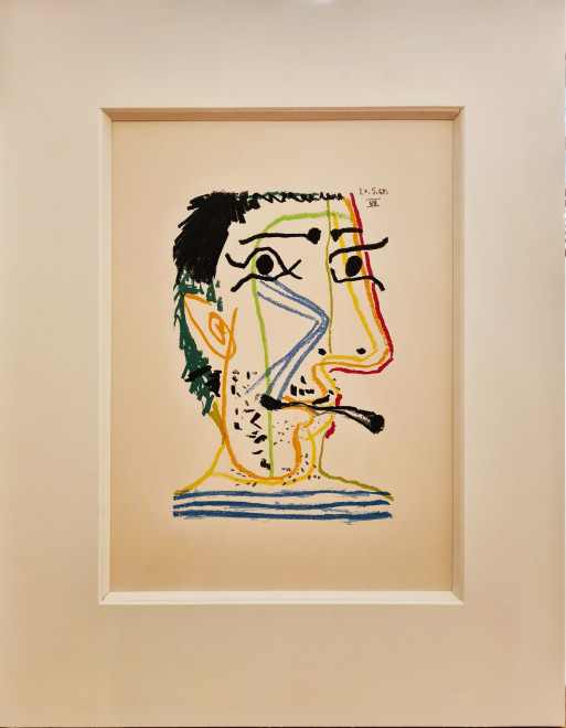 Face of a man VI, 64.