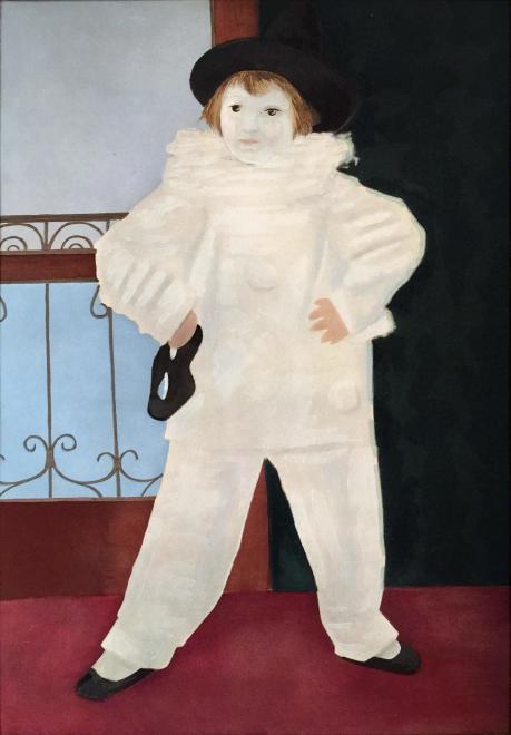 The artist's son, 1925