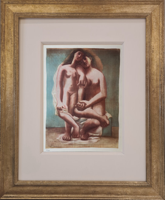 Two nudes, 1920