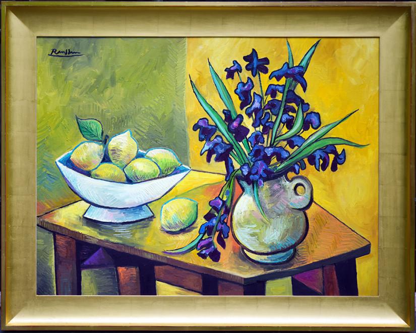 Size M/L | Flowers and Lemons