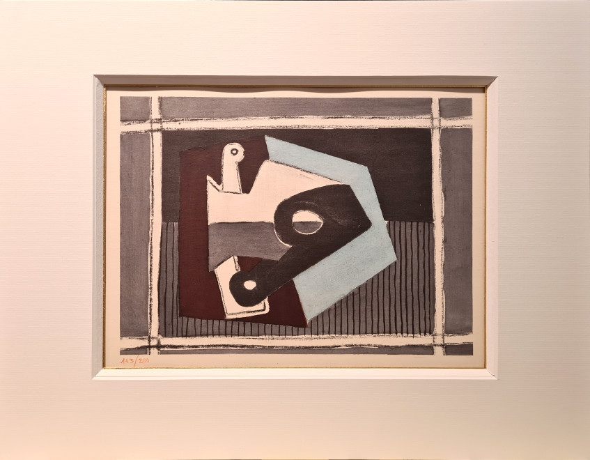 Composition with pipe, 1920