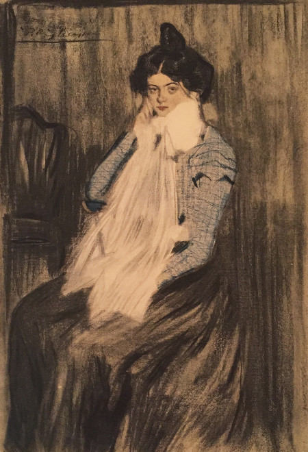 Portrait of Lola, sister of the artist, 1899