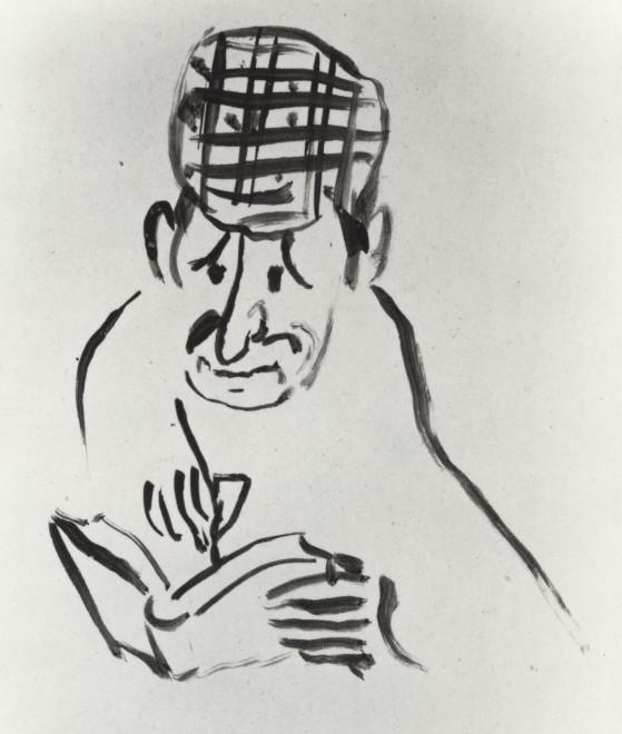 Mirbeau writing his Journal