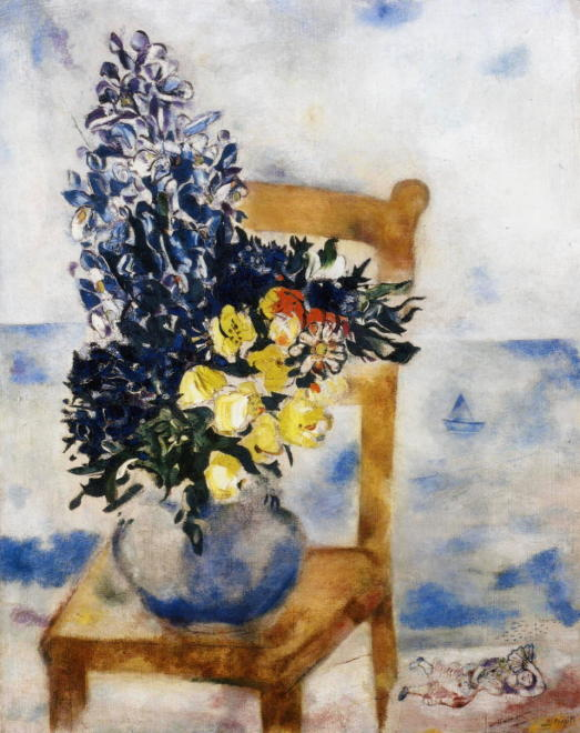 Flowers on a Chair, Mourillon