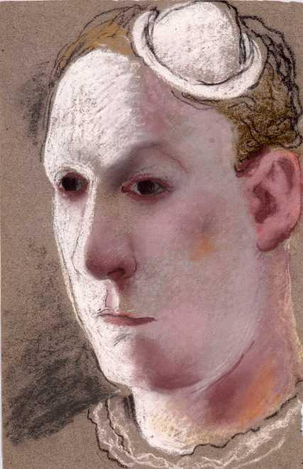 Clown-self Portrait