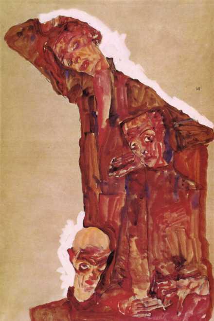 "<span class=""artist""><strong>Egon Schiele</strong></span>, <span class=""title""><em>Self Portrait(s) </em></span>"