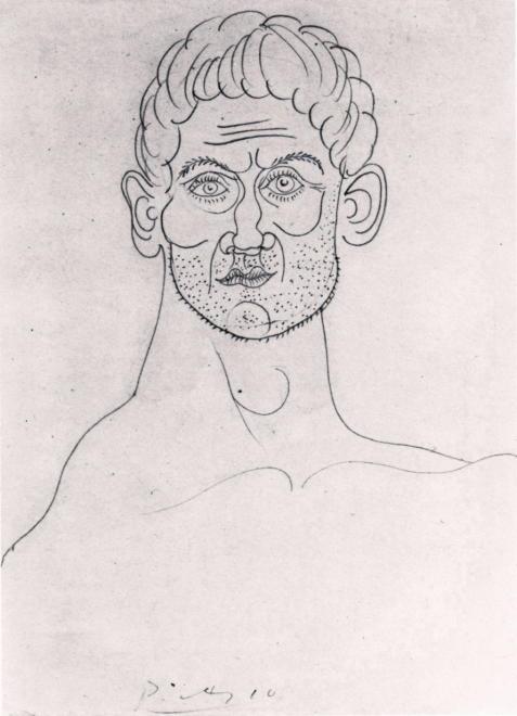 Head of Man