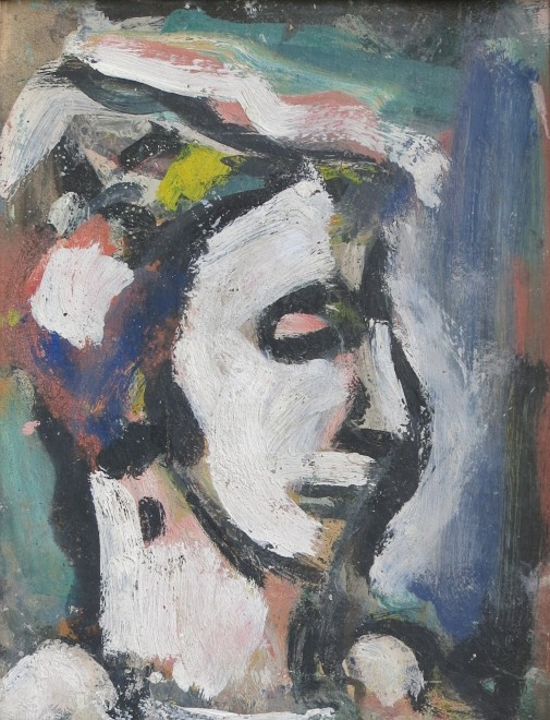 """<span class=""""artist""""><strong>Georges Rouault</strong></span>, <span class=""""title""""><em>Camille </em></span>"""