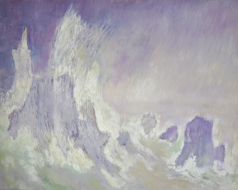 """<span class=""""artist""""><strong>Albert Houthuesen</strong></span>, <span class=""""title""""><em>Wave Against Rocks</em>, c.1958</span>"""