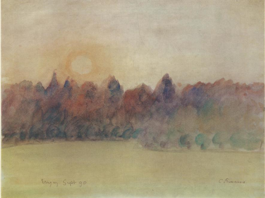 "<span class=""artist""><strong>Camille Pissarro</strong></span>, <span class=""title""><em>Eragny </em></span>"
