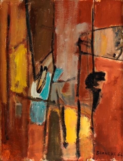 "<span class=""artist""><strong>Georges Bernède</strong></span>, <span class=""title""><em>C006 - Composition 64 - 1</em>, 1964</span>"