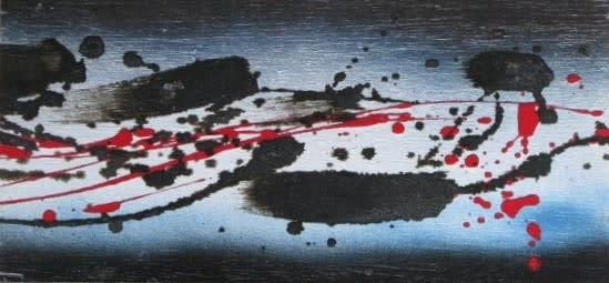 "<span class=""artist""><strong>Denis Bowen</strong></span>, <span class=""title""><em>Takanawa Hiroshige series (10)</em>, 1997</span>"