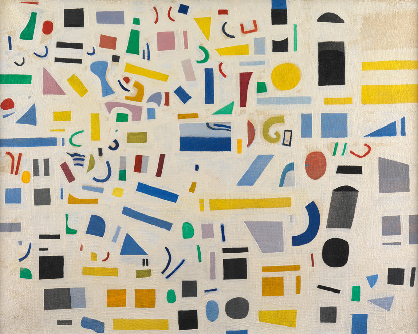 <span class=&#34;artist&#34;><strong>Caziel</strong></span>, <span class=&#34;title&#34;><em>WC535 - Composition</em>, c. 1967</span>