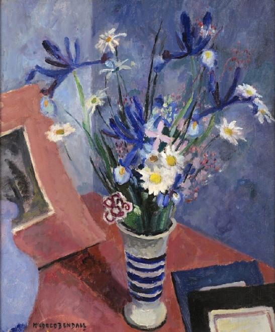 Irises and Daisies