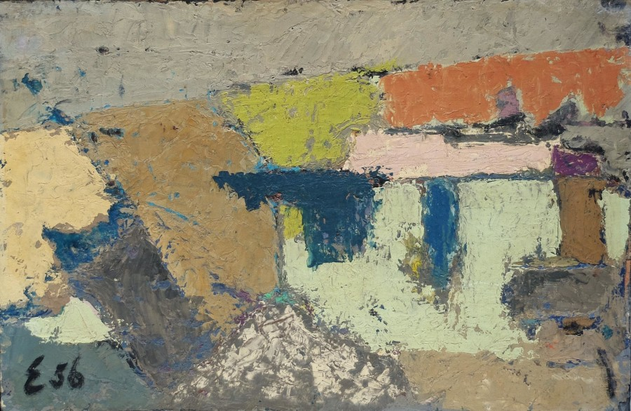 """<span class=""""artist""""><strong>Elie Borgrave</strong></span>, <span class=""""title"""">Untitled, 1956</span>"""