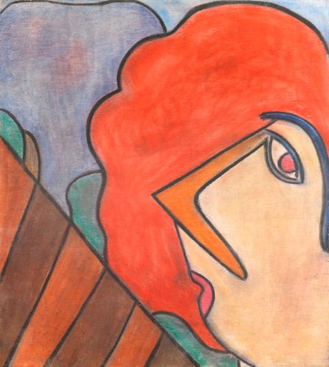 AL1109 - Self-portrait