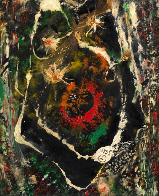 "<span class=""artist""><strong>Joseph Lacasse</strong></span>, <span class=""title""><em>Cosmos</em>, 1935</span>"