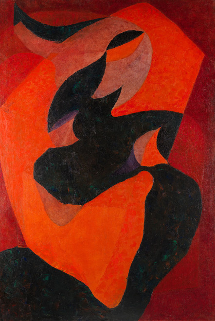 "<span class=""artist""><strong>Joseph Lacasse</strong></span>, <span class=""title""><em>Méditation</em>, 1947</span>"